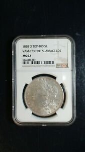 Click now to see the BUY IT NOW Price! 1888 O MORGAN SILVER DOLLAR NGC MS62 VAM 1B3 SCARFACE $1 COIN BUY IT NOW