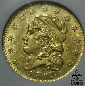 1814/3 UNITED STATES $5 GOLD CAPPED BUST HALF EAGLE NGC AU58  BEAUTY