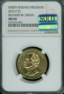 Click now to see the BUY IT NOW Price! 2016 P RICHARD NIXON PRES. DOLLAR NGC MS69 PQ SOLO FINEST REGISTRY MAC SPOTLESS