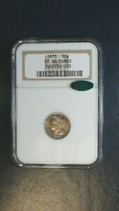 1878 THREE CENT NICKEL NGC PF66 CAMEO CAC ACCREDITED 3CN COIN PRICED TO SELL