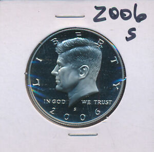 KENNEDY   2006 S PROOF CAMEO