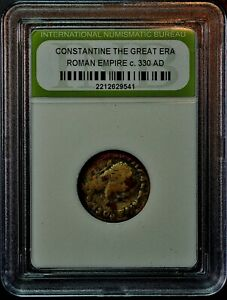 C. 330 AD. CONSTANTINE THE GREAT ANCIENT COIN. A BARGAIN BOX BUY   541