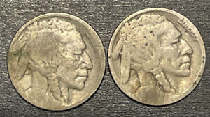 1919 S UNITED STATES BUFFALO NICKEL  G  ONE COIN FROM LOT