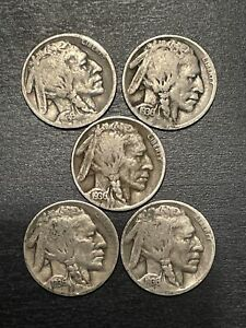 1936 D BUFFALO NICKEL G / VG  ONE COIN FROM LOT