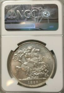 Click now to see the BUY IT NOW Price! 1888 GREAT BRITAIN VICTORIA CROWN WIDE DATE NGC MS62