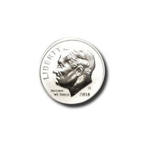 2018 S ROOSEVELT DIME   SILVER REVERSE PROOF
