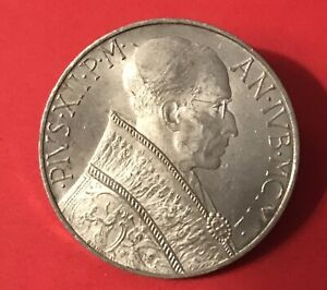 1950 VATICAN CITY 10 LIRE COIN   POPE PIUS XII SEP147