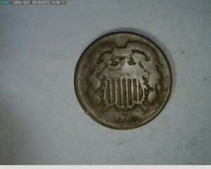 1864 TWO CENT CIVIL WAR COIN   81 148 10M1