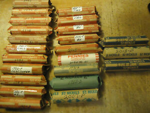 1985 ROLL OF LINCOLN CENTS     YOU ARE BIDDING THIS  LISTED ROLL ONLY