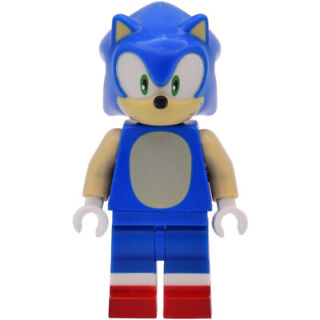 4PCS Sonic The Hedgehog Brand New Lego Moc Minifigure Gift For Kids Collection