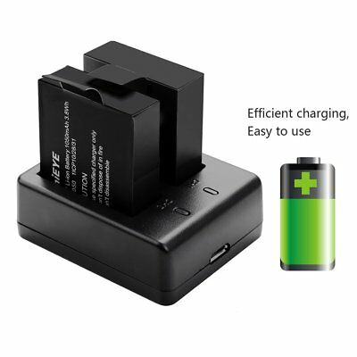 Батареи ThiEYE 3.7V 1050mAh Li-ion Rechargeable
