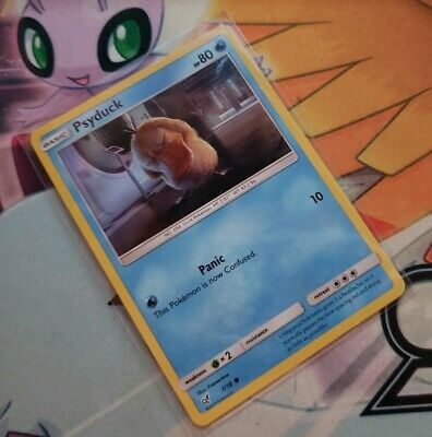 Psyduck 7/18 SM Detective Pikachu HOLO Pokemon Card NEAR MINT