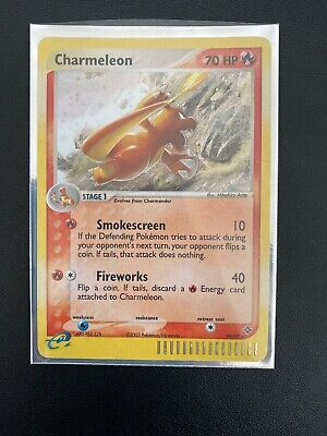 Pokemon Cards Charmeleon #99/97 EX Dragon Secret Rare Holo Card