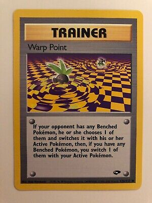 1999 Pokemon Trainer Warp Point - Gym Challenge 126/132 - Mint (M) - WOTC