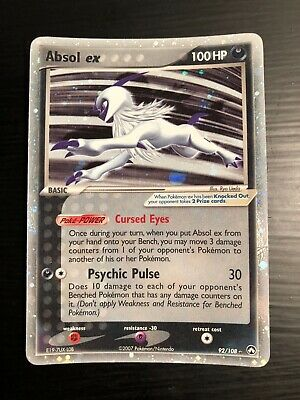 Absol EX - Near Mint - Pokemon Card - Power Keepers- 92/108 - Rare Holo EX