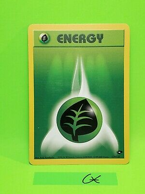 Pokemon Grass Energy - 129/132 - Common Unlimited Gym Heroes Ex