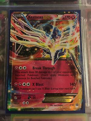 Xerneas EX XY07 XY Black Star Promos  Pokemon Card Ultra Rare N/M