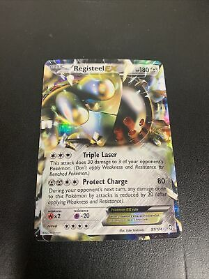 Registeel EX - Pokemon Card - Dragons Exalted - Ultra Rare Holo - NM