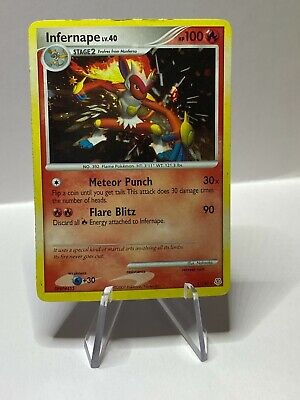 2007 Pokemon INFERNAPE holo 5/130 Diamond & Pearl rare