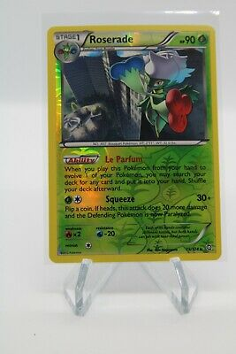 Pokemon Dragons Exalted Pack Fresh PSA 9/10? Roserade 15 /124 Reverse Holo
