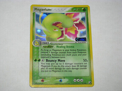 Pokemon Meganium Unseen Forces Holo Card 9/115 NM Used