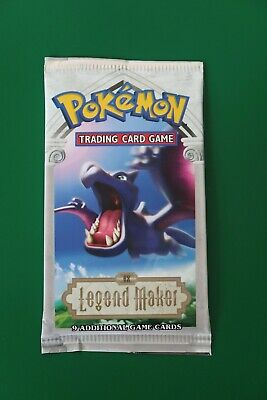 Pokemon EX Legend Maker Booster Pack - Aerodactyl Artwork NEW