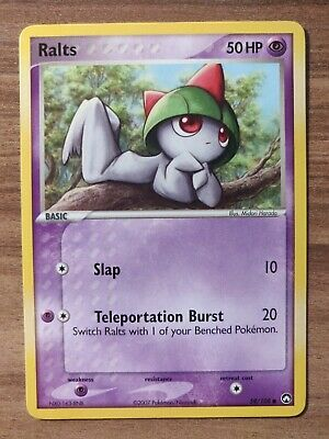 Ralts 59/108 - MINT EX Power Keepers - Pokemon 2007 Common TCG Card