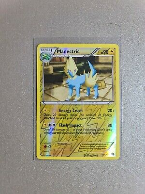 Pokemon Card Manectric - Dragons Exalted - Reverse Holo Rare 43/124
