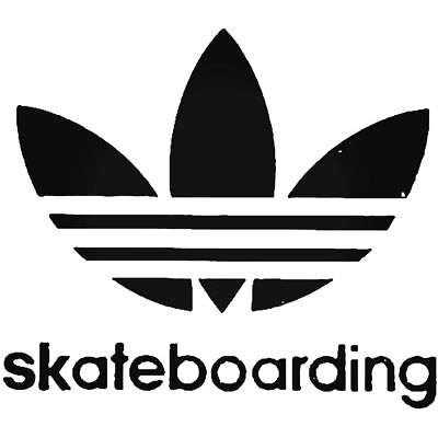 Нашивка (BLACK)Addias Skateboarding Vinyl Decal