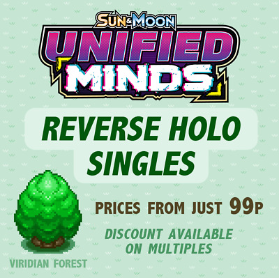Pokemon - SM Unified Minds - Reverse Holo -