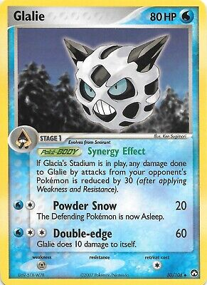GLALIE  30/108  EX POWER KEEPERS Pokemon Card  NM