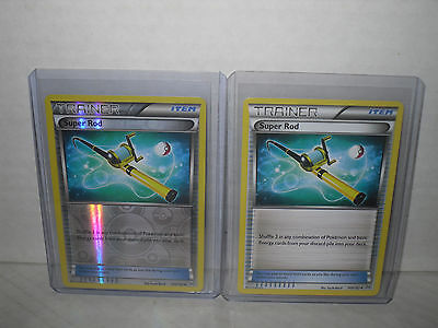 Pokemon SUPER ROD - XY BREAKTHROUGH 149/162 - 1 Rev Holo Card,1 Non Holo **New**