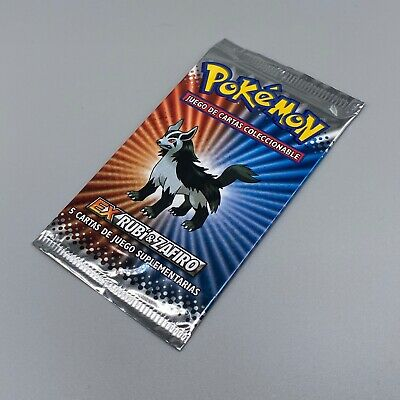 HEAVY Booster Pack Mightyena - EX Ruby Sapphire - SPANISH - Pokemon - SEALED