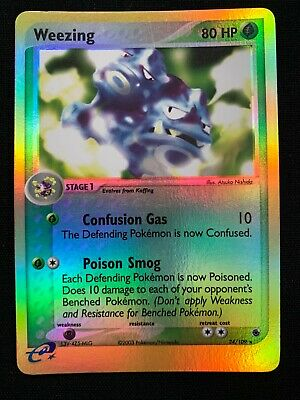 Weezing Reverse Holo - 24/109 - EX Ruby & Sapphire Pokemon Card