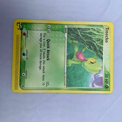 Treecko 80/97 Ex Dragon Set Pokemon Card