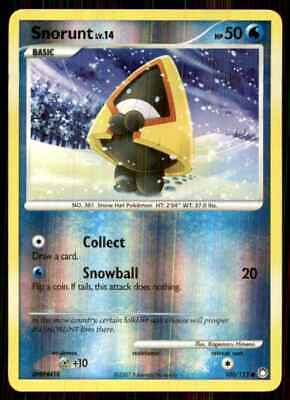 2007 Pokemon Dp Mysterious Treasures Reverse Foil Snorunt C #100