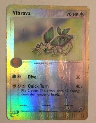 Pokemon VIBRAVA 47/97 Reverse Holo Dragon