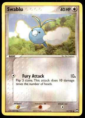 2007 Pokemon EX Power Keepers Swablu C #66