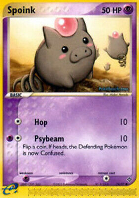 Spoink - 74/97 - Common - EX Dragon - LP - Pokemon