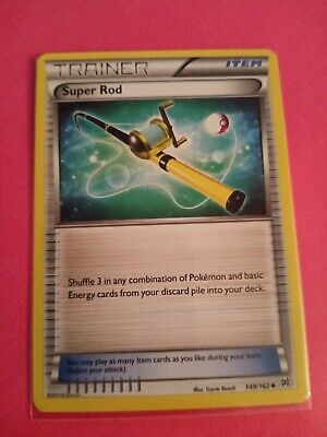 Super Rod 149/162 Uncommon XY Breakthrough Pokemon Card