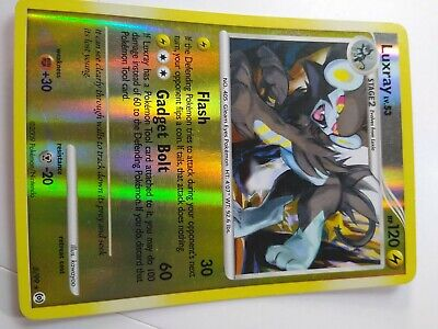 1x - Luxray - 5/99 - Holo Rare - Reverse Holo LP, English Pokemon Arceus