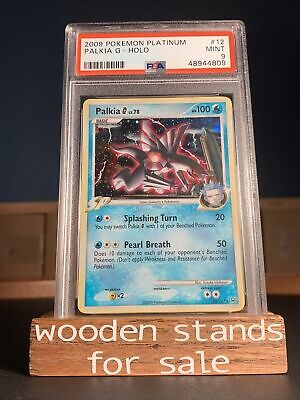 PSA 9 MINT 12/127 Palkia G Platinum Holo Pokemon Card