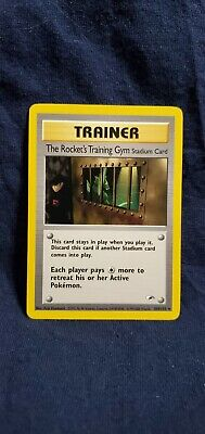 Pokemon Gym Heroes Unlimited The Rocket's Training Gym 104/132 in VLP condition