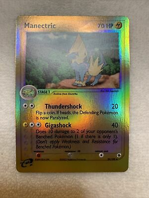Manectric - 39/109 -  Reverse Holo Pokemon Card - Ex Ruby and Sapphire NM