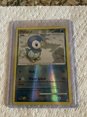 Pokemon PIPLUP 93/130 DIAMOND AND PEARL HOLO NM Great Condition