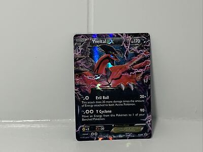 Yveltal EX XY08 Black Star Promo Ultra Rare Pokemon Card Near Mint/LP