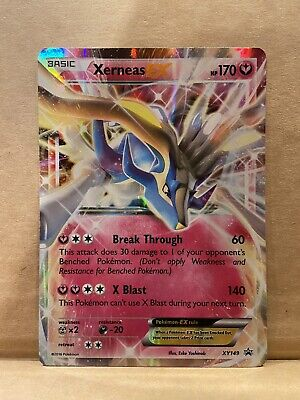 Pokemon XERNEAS EX XY149 Holo Rare XY Black Star Promo