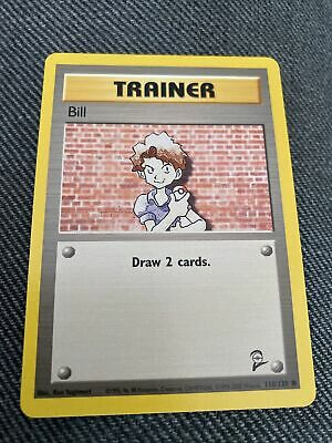 118/130 Bill - Base Set 2 - Common Pokemon TCG Card