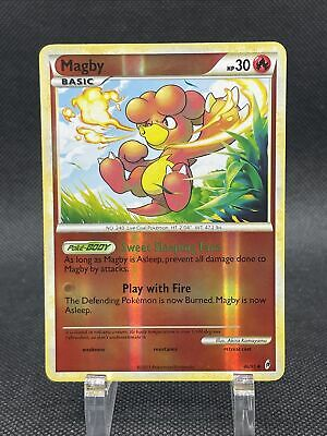 Magby | 46/95 | Reverse Holo | Call Of Legends | Pokemon Card | Near Mint