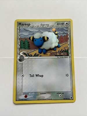 Mareep 54/101 Holo Stamped - Pokemon Card EX Dragon Frontiers - NM